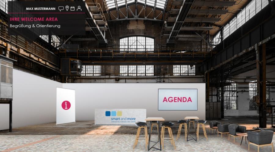 Welcome Area bei smartdigital24