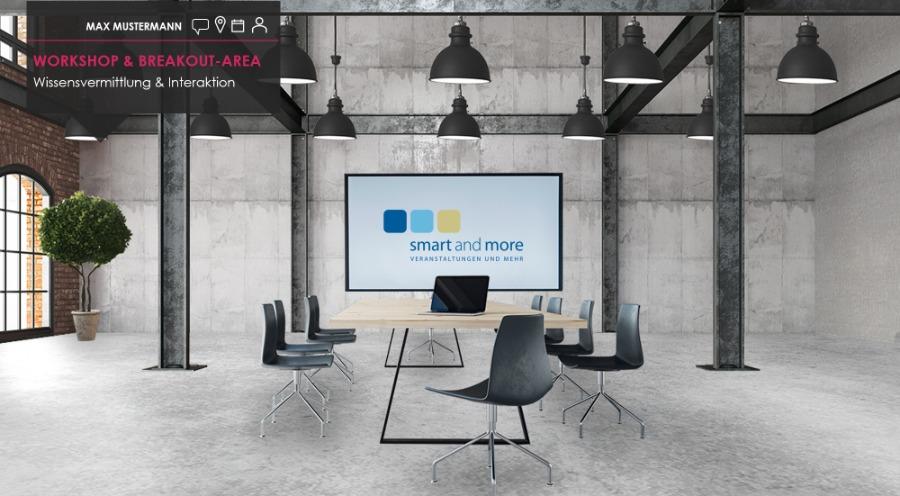 smartdigital24: Breakout-Area und Workshops