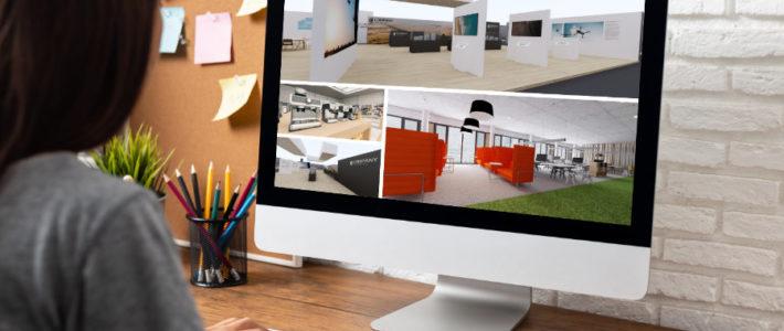 virtuelle Messestände mit roomskale