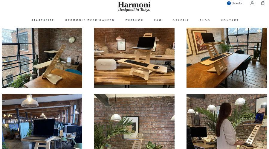Harmony Stehpult für Videokonferenzen oder Online-Events