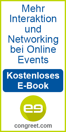 congreet: ebook zum Networking bei Online-Events