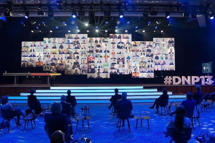 DNP13 Preisverleihung virtuell | Beispiel: hybride Veranstaltung