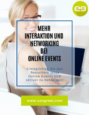 E-Book: Networking auf Online-Events - von und mit congreet