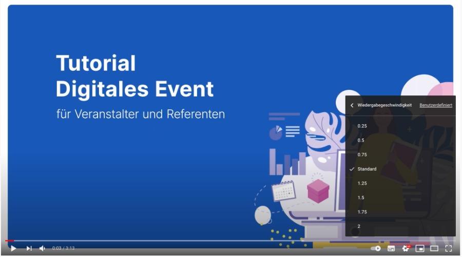Erklärvideos für Online-Events auf YouTube hochladen