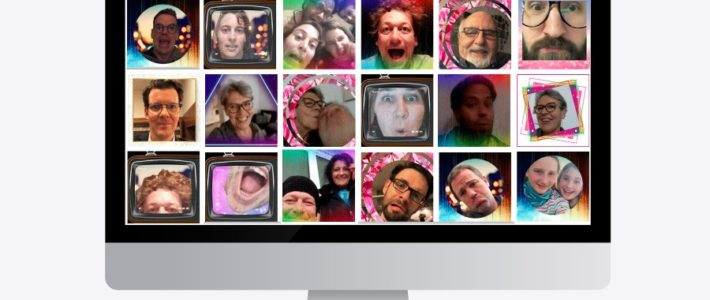 Galerie: Selfiebooster virtuelle Fotobox von click it