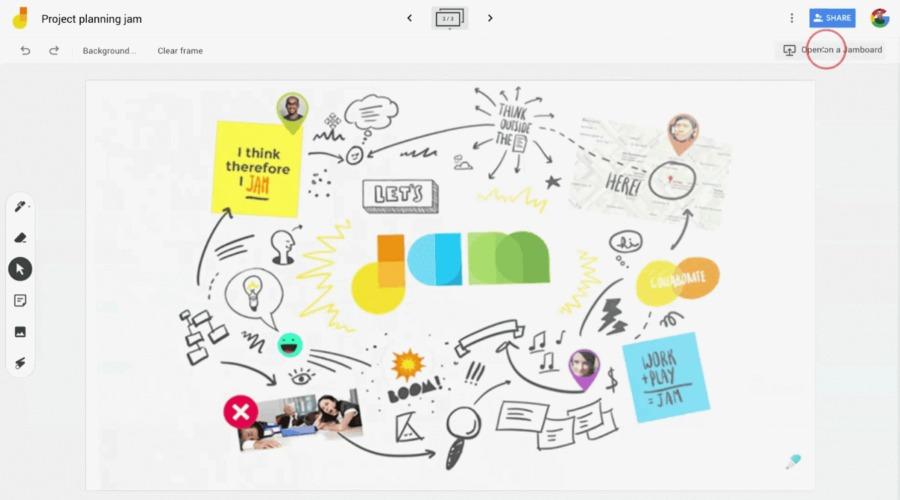 Jamboard App | virtuelles Whiteboard von G-Suite
