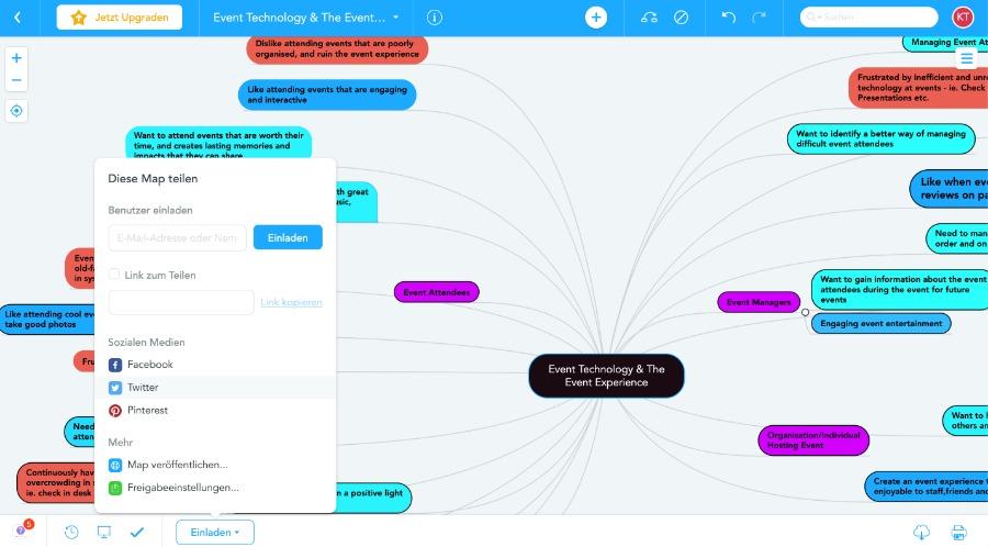 MindMeister: für Mindmaps und Brainstorming