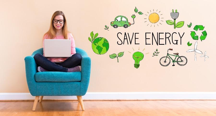 Strom sparen für nachhaltige Online-Events