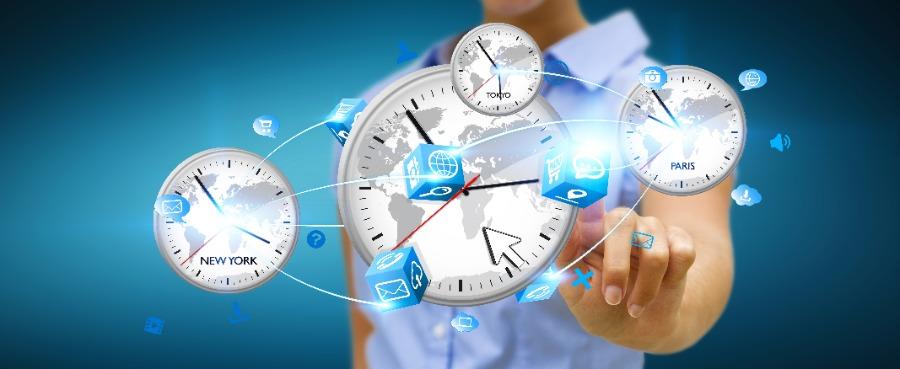 Zeitzonen überwinden – mit simulive oder aufgezeichneten Vorträgen