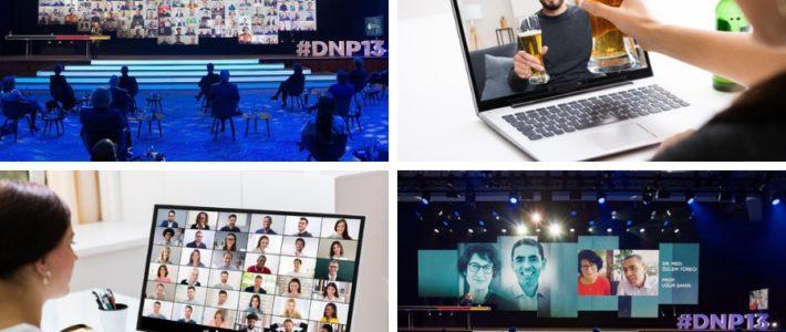 hybride Veranstaltungen oder virtuelle Veranstaltungen