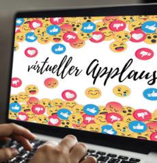 virtueller Applaus für Online-Events