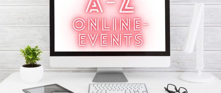 A bis Z | Glossar für Online-Events