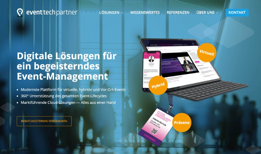 Full-Service Anbieter Event-Tech-Partner