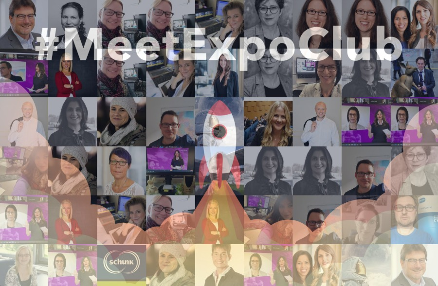 Online Fotomosaik vom Meet Expo Club mit click it