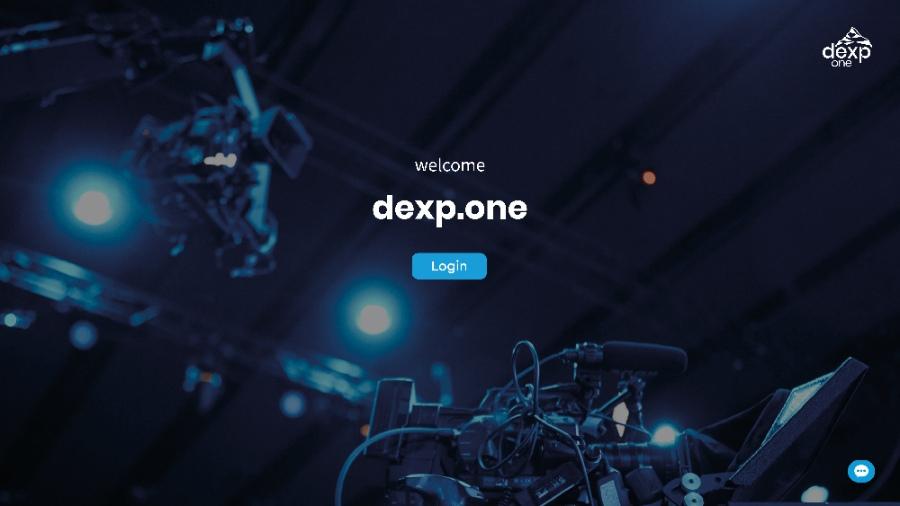 dexp.one: anpassbare Website