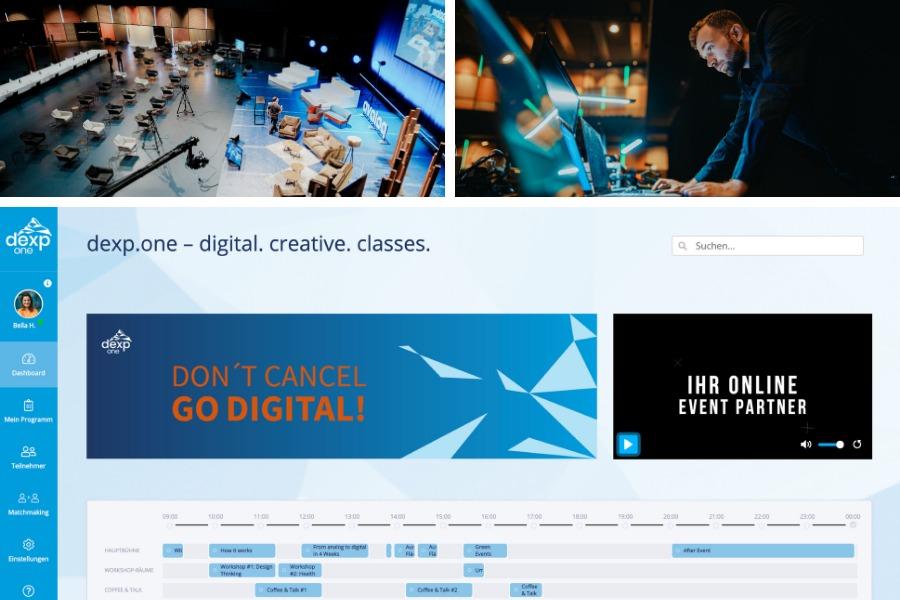 dexp.one: für virtuelle und hybride Events