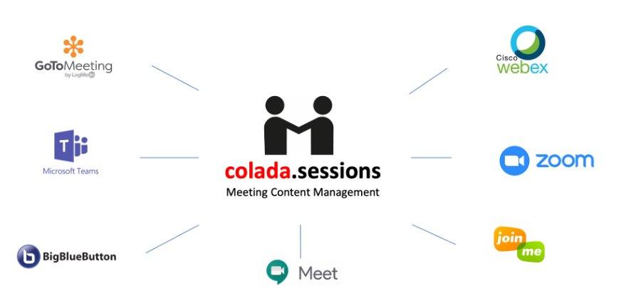 Integration der gängigen Videokonferenz-Lösungen