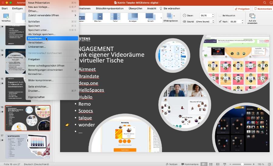 Videos mit PowerPoint erstellen