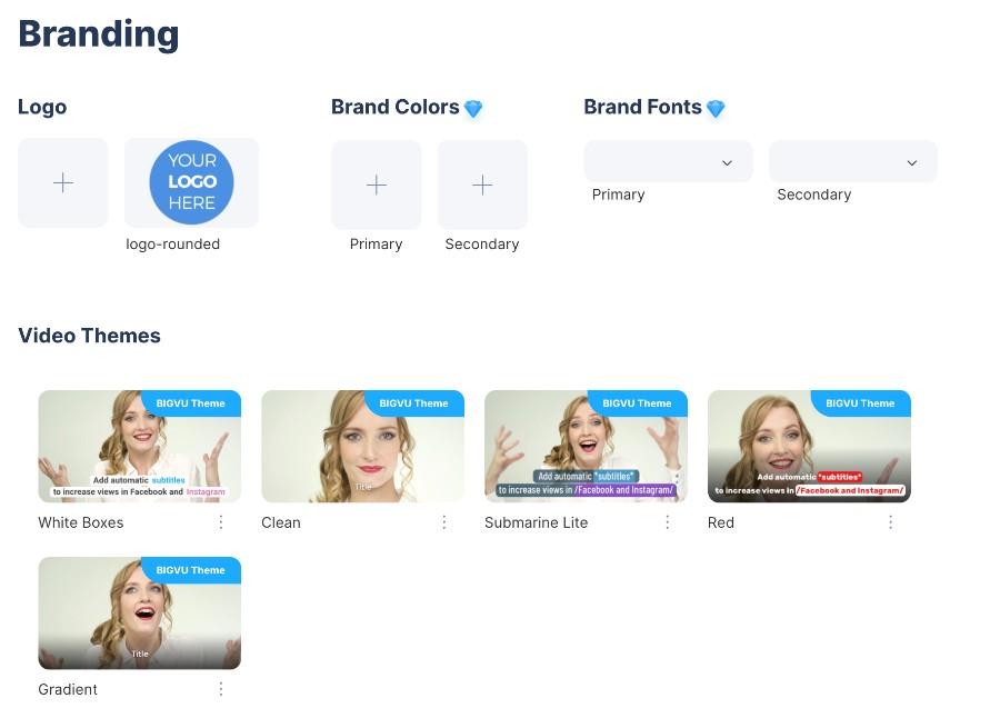 Branding mit Videosoftware BIGVU