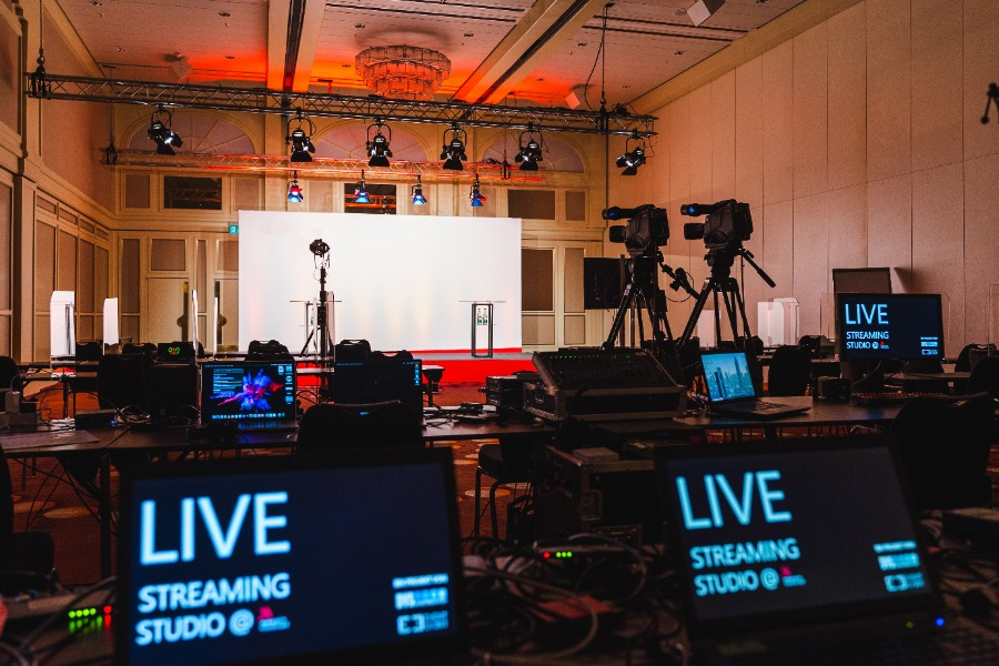 Livestreaming mit EVENT EVENT aus Partner-Locations