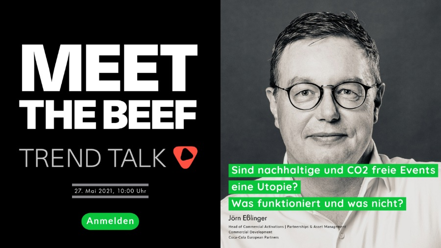 MEET THE BEEF – Trend Talk: CO2-freie Events