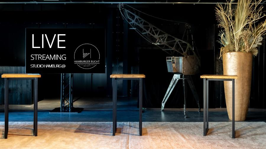 Studio Hamburg Hafencity für LiveStreamings
