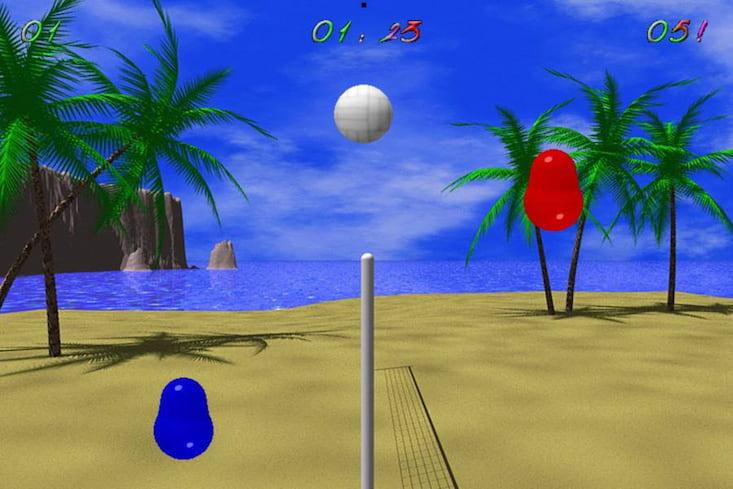 browserbasiertes Online-Spiel Blobby Volley