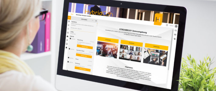flexible Event-Plattform: Streamboxy