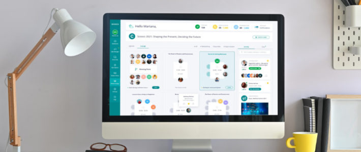 virtuelle Event-Plattform SCOOCS