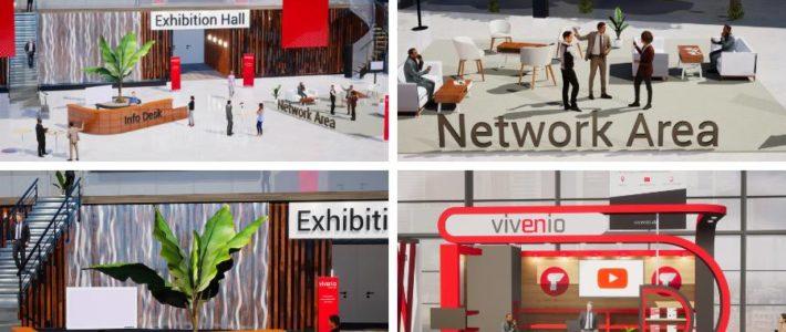 vivenio: Full-Service-Plattform für virtuelle Messen und Konferenzen