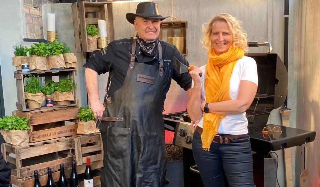 online Grillevent mit Ellen Kamrad und Ralf Mechlinski