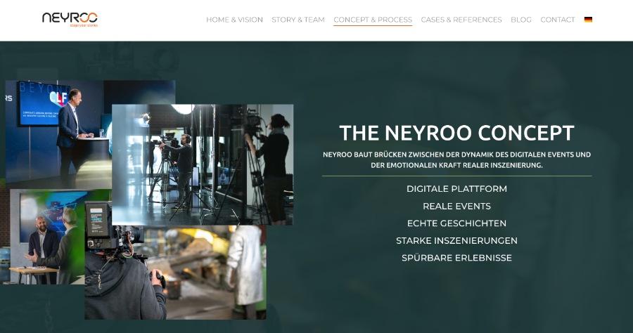 virtuelle Messe oder Event mit Neyroo