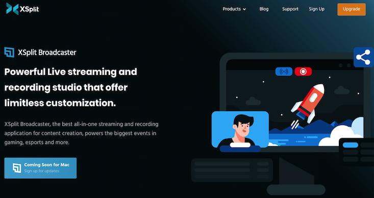 Xsplit Broadcaster | Software für Livestreaming Produktion