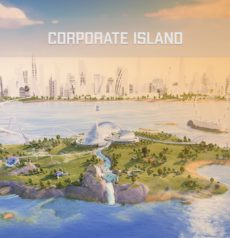 Corporate Island | 3D Plattform für Events