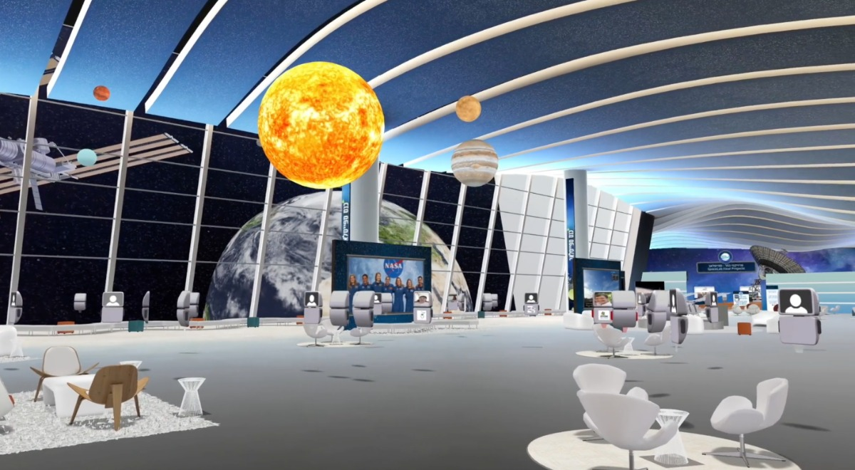 exVo von allseated   ViLOCX   virtuelle 3D Event-Plattform