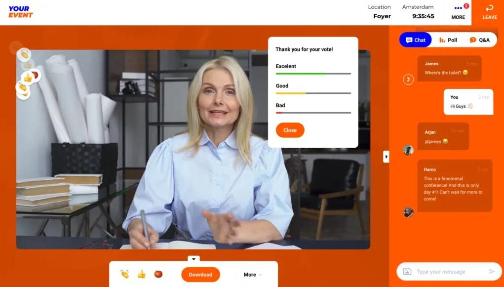 Features für Referenten | Let's Get Digital
