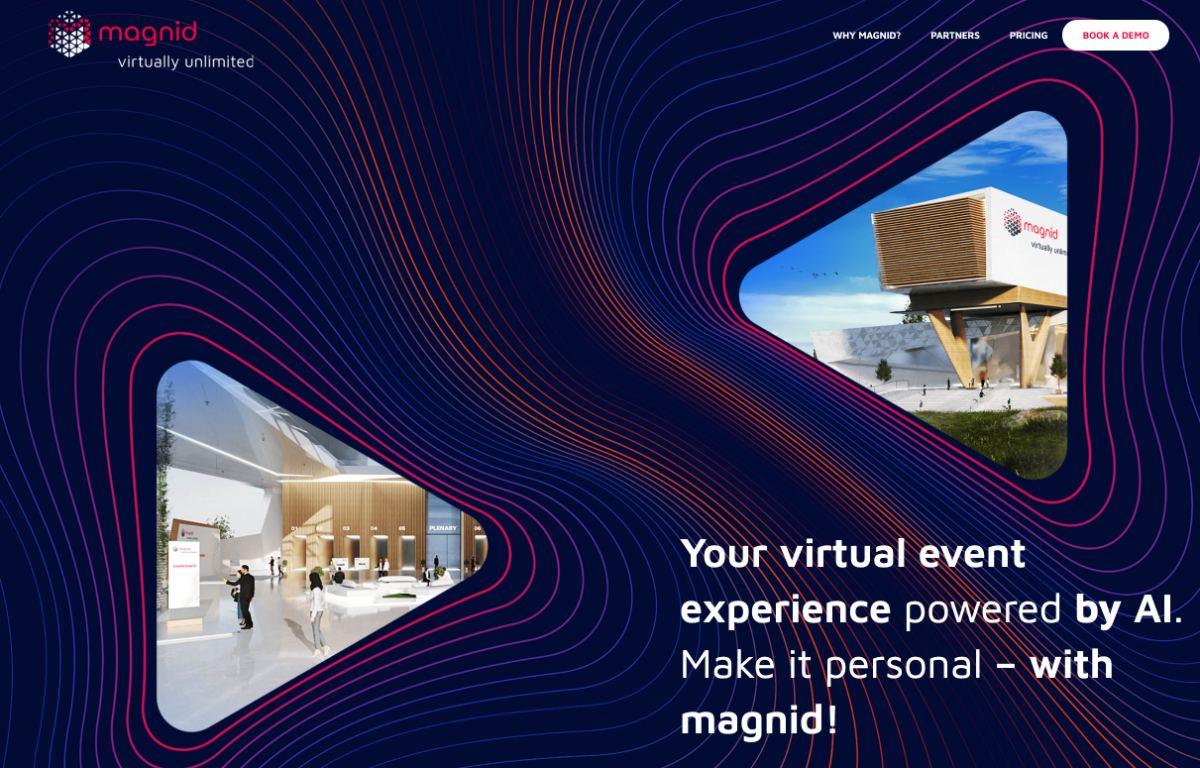 magnid   virtuelle Event-Plattform für eine virtuelle Messe oder virtuelles Event
