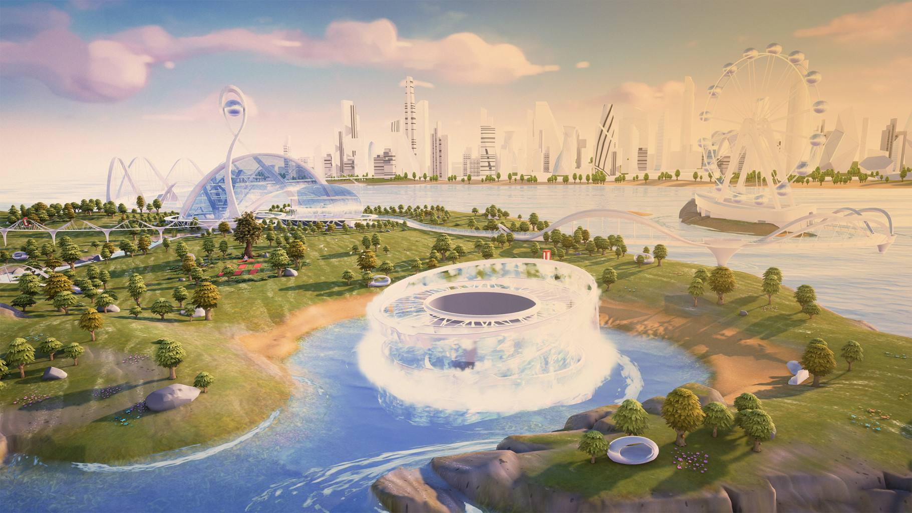 Main Stage der Event-Plattform Corporate Island