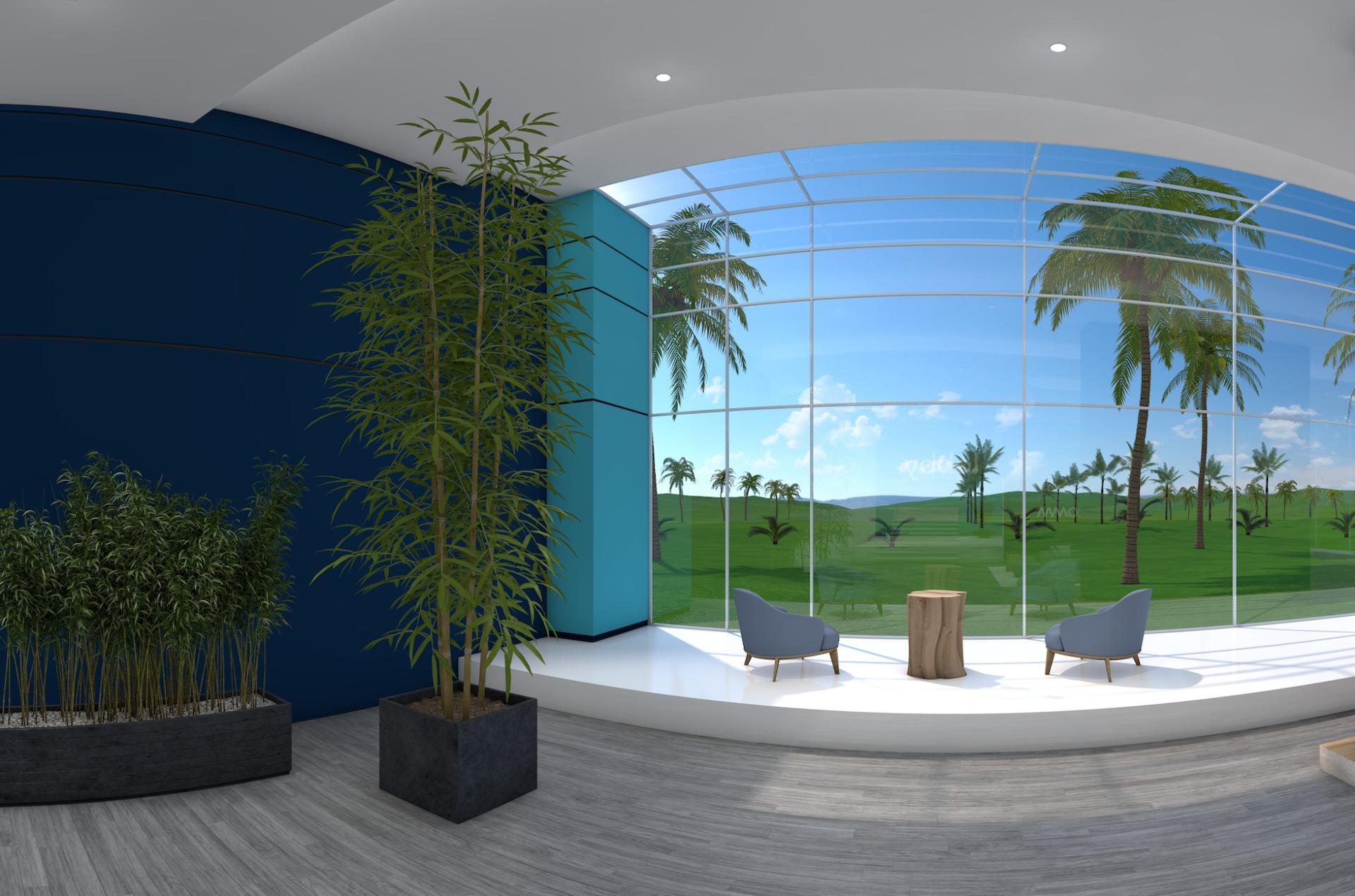 Beispiel eines virtuellen Meetingraumes | VISIOVENT