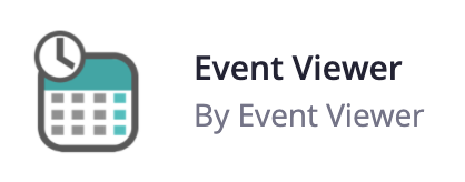 Event Viewer | Zoom Apps