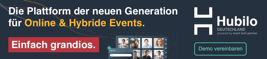 Hubilo Deutschland – virtuelle und hybride Event-Plattform