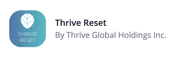 Thrive Reset | Zoom Apps