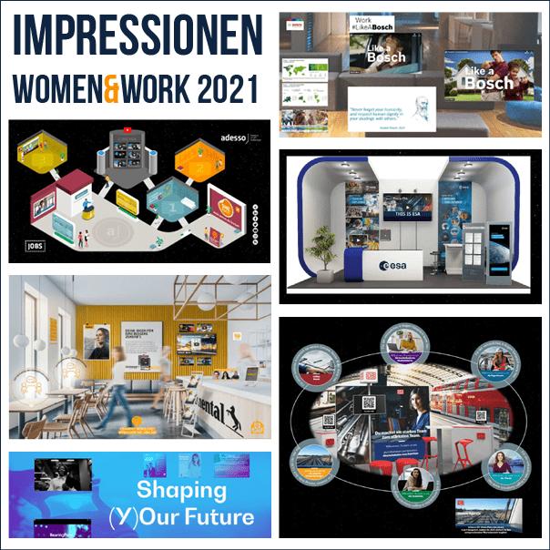 Impressionen WOMEN&WORK 2021