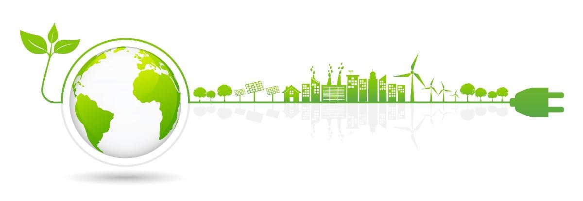 Nachhaltigkeit dank grünem Strom