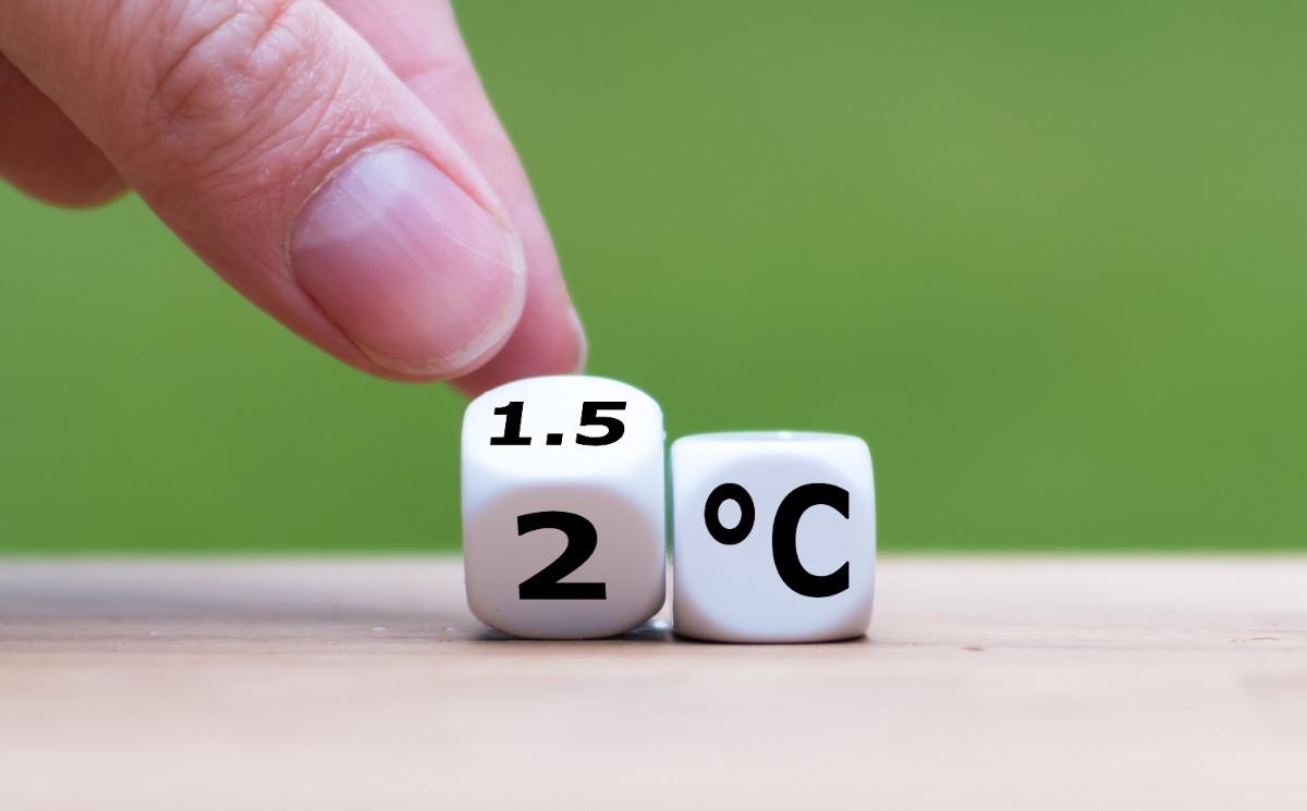 Nachhaltigkeit und Klimaschutz: 1,5 Grad Ziel