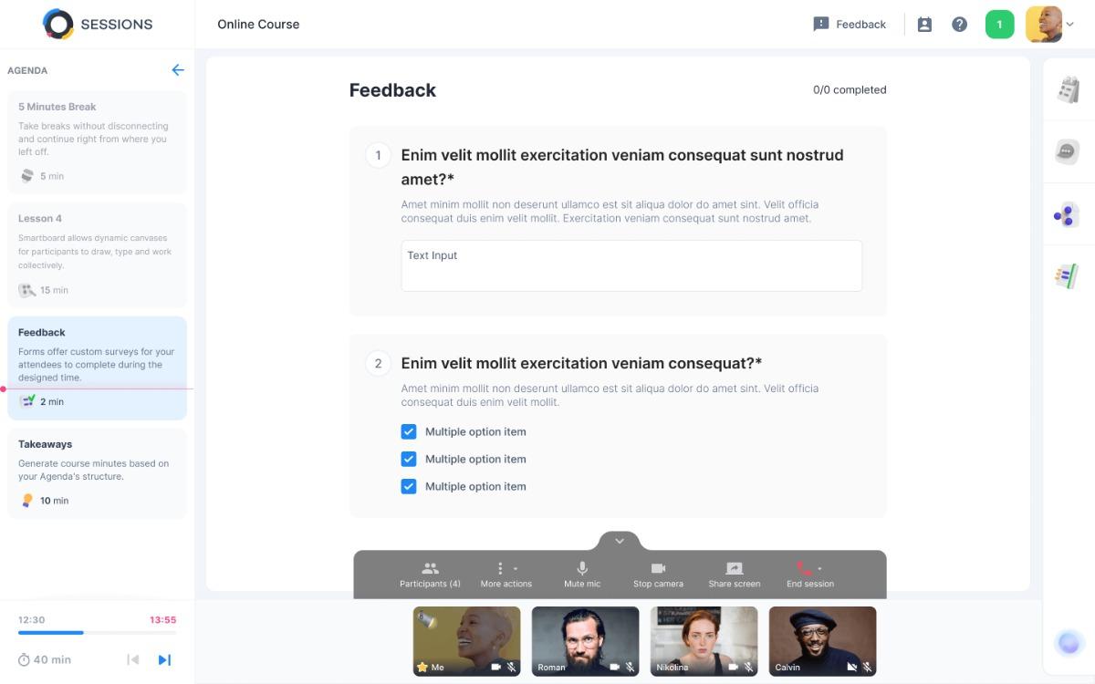 Umfragen im Online-Meeting