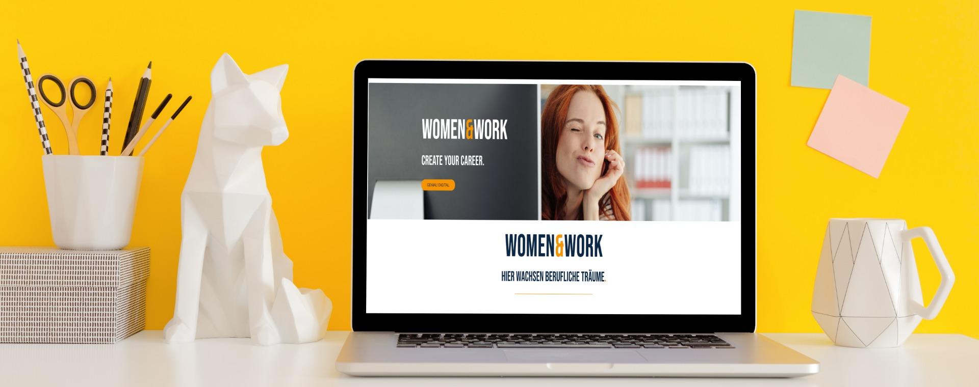 digitale Messen umsetzen - Beispiel women&work