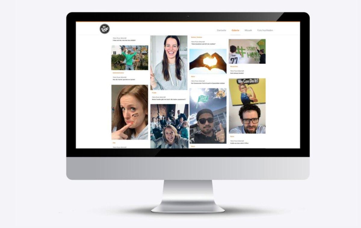 online Fotomosaik mit Einzelbildern