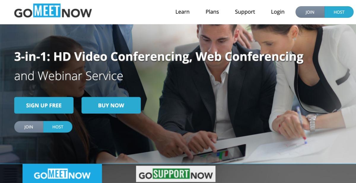 GoMeetNow - Videokonferenz-Software