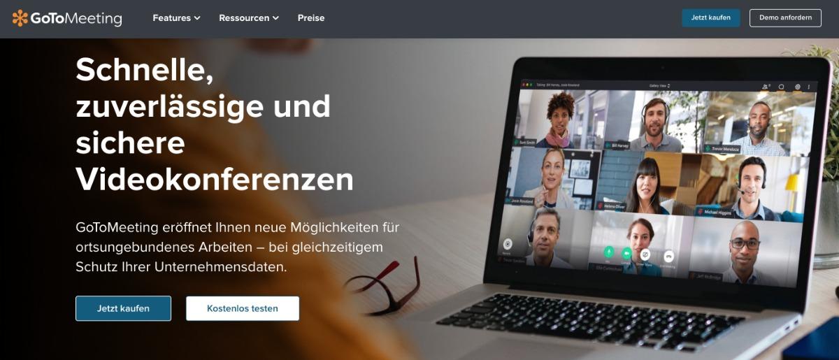 GoToMeeting - Videokonferenzen